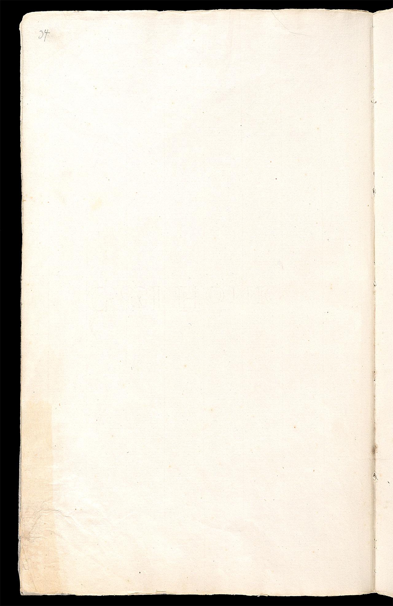 Friedrich Hölderlin, Homburger Folioheft, Seite 34, Handschrift