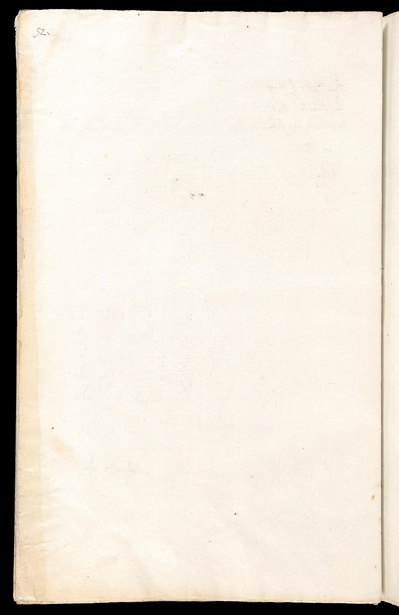 Friedrich Hölderlin, Homburger Folioheft, Seite 52, Handschrift