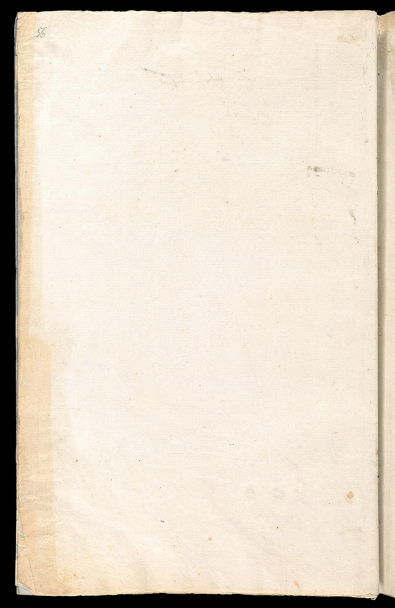 Friedrich Hölderlin, Homburger Folioheft, Seite 56, Handschrift