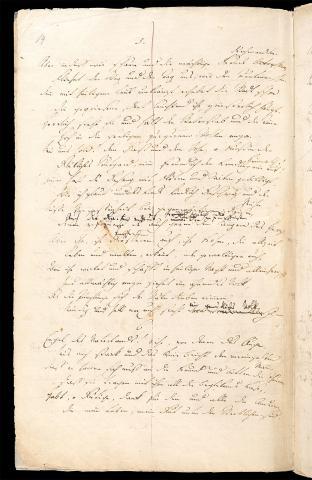 Friedrich Hölderlin, Homburger Folioheft, Seite 14, Stutgard, Handschrift