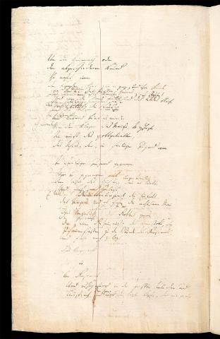 Friedrich Hölderlin, Homburger Folioheft, Seite 22, Patmos, Handschrift