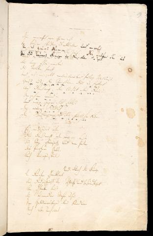Friedrich Hölderlin, Homburger Folioheft, Seite 29, Die Titanen, Handschrift