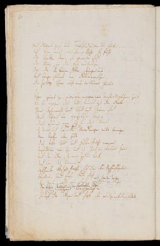 Friedrich Hölderlin, Homburger Folioheft, Seite 60, Germanien, Handschrift