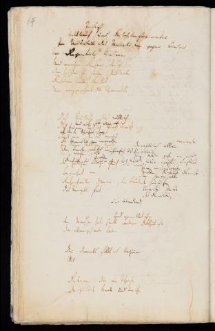 Friedrich Hölderlin, Homburger Folioheft, Seite 64, Germanien, Handschrift