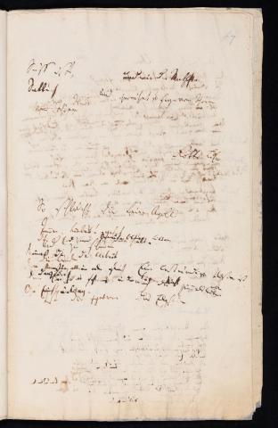 Friedrich Hölderlin, Homburger Folioheft, Seite 67, Süß ists…, Handschrift