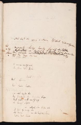 Friedrich Hölderlin, Homburger Folioheft, Seite 81, Kolomb, Handschrift
