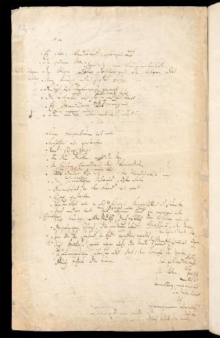 Friedrich Hölderlin, Homburger Folioheft, Seite 91, Mnemosyne, Handschrift